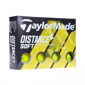 Taylormade Distance + Soft (20) (yel) Golf Ball Not Applicable